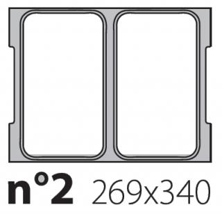 Матрица на запайщик лотков Olympus XL 269×340