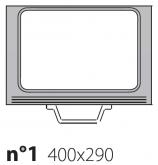 Матрица на запайщик лотков Poseidon Gastronorm 400×290