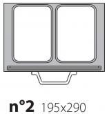 Матрица на запайщик лотков Poseidon Gastronorm 195×290