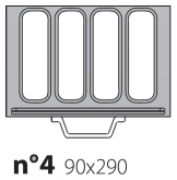 Матрица на запайщик лотков Poseidon Gastronorm 90×290