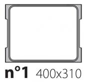 Матрица на запайщик лотков Olympus 400×310