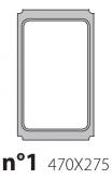 Матрица на запайщик лотков Polaris 470×275