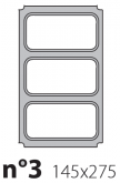 Матрица на запайщик лотков Polaris 145×275