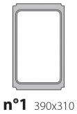 Матрица на запайщик лотков Express 390×310