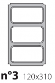 Матрица на запайщик лотков Express 120×310